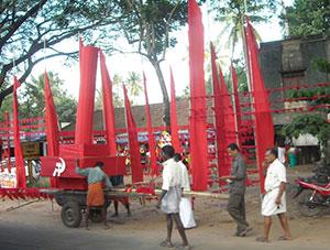 Arbeiter in Kerala